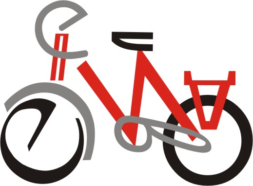 "The object composed of word letters. Велосипед (Bicycle). ""В"", ""Е"", ""Л"", ""О"", ""С"", ""И"", ""П"", ""Е"", ""Д"""